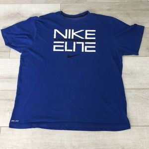 Nike Dri-Fit Blue T Shirt 2X